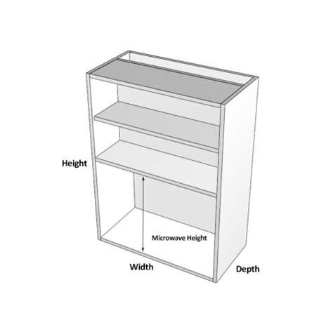 stylelite acrylic appliance cabinet 2 doors built in
