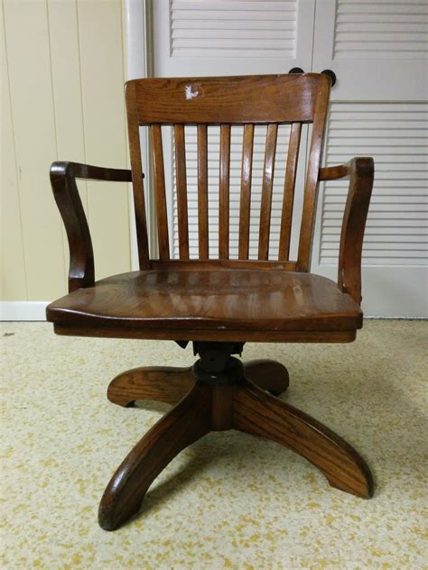 antique wood office chair antique furniture