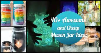 Unique Easter Decor 40 Awesome And Cheap Diy Ways To Recycle Mason Jars