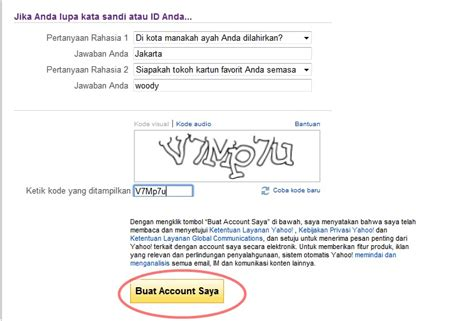cara membuat id yahoo mail cara membuat email yahoo yahoo mail saran2 com