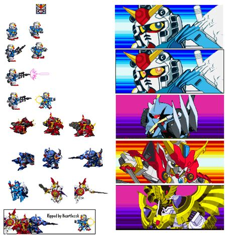 Ind 06 Size Sd 8xl sd gundam for gba