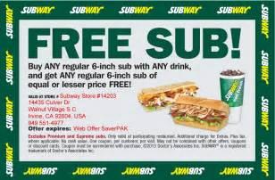 printable subway coupons gameshacksfree