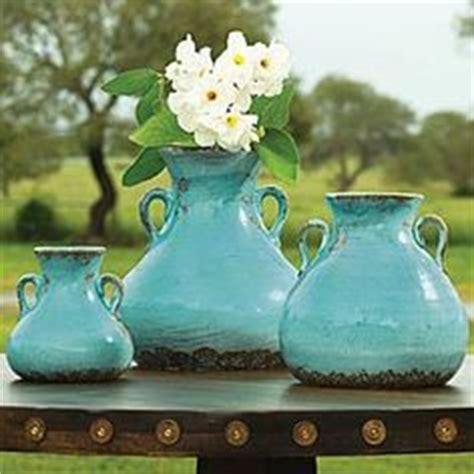afrikanisches badezimmerdekor turquoise aqua decor for the home vasen