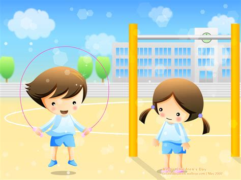 childrens wallpapers children s day powerpoint backgrounds and wallpapers ppt