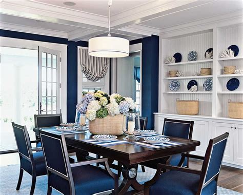 gorgeous blue dining room themes ideas to add