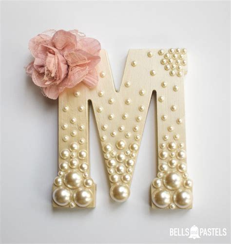 Decorative Letters For Baby Nursery Decorative Wooden Letter For Baby Shower Bridal Shower Or Nursery 9 Or 15 Inch