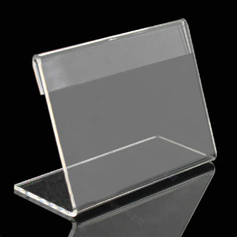porta etichette acquista all ingrosso plastica trasparente porta