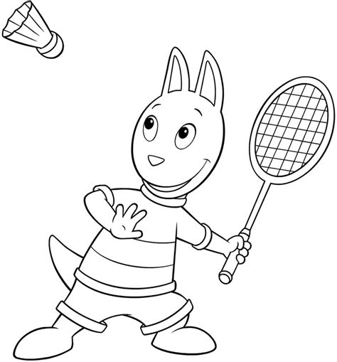 backyardigans printable coloring pages az coloring pages