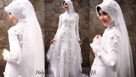 desain gaun pengantin 2015 kebaya akad muslim hairstylegalleries com