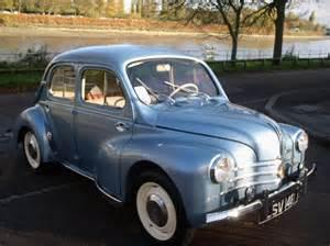Renault Cv4 Classic Chrome Renault 4cv 1961 P P Metallic Blue