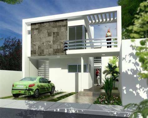 cocheras abiertas modernas fachadas de casas de 2 pisos part 2