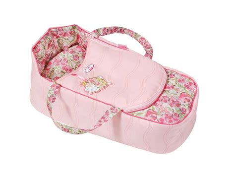 sleep accessories baby annabell 174 2in1 sleeping carrier