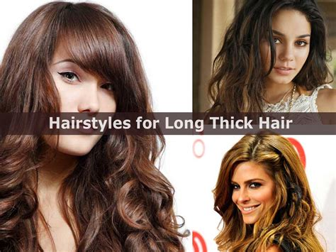 Hairstyles For Thick Hair by And Easy Hairstyles For Thick Hair Hairstyle