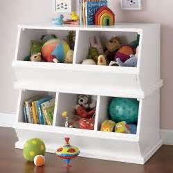 Kidkraft White Bookcase Storagepalooza Kids Stacking Toy Storage The Land Of Nod