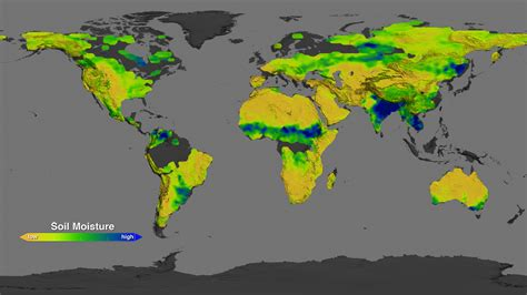 nasa s aquarius returns global maps of soil moisture nasa