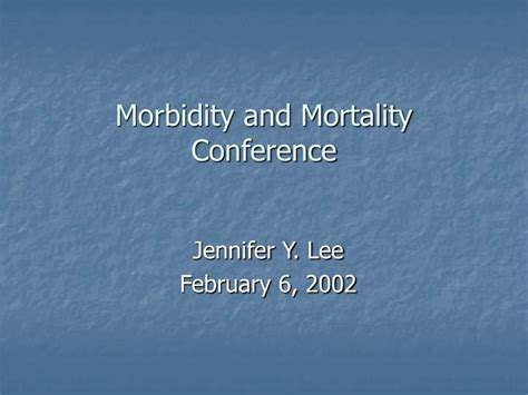 Ppt Morbidity And Mortality Conference Powerpoint Morbidity And Mortality Presentation Template