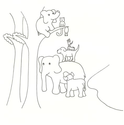 ellie elephant coloring page free coloring pages of ellie from up
