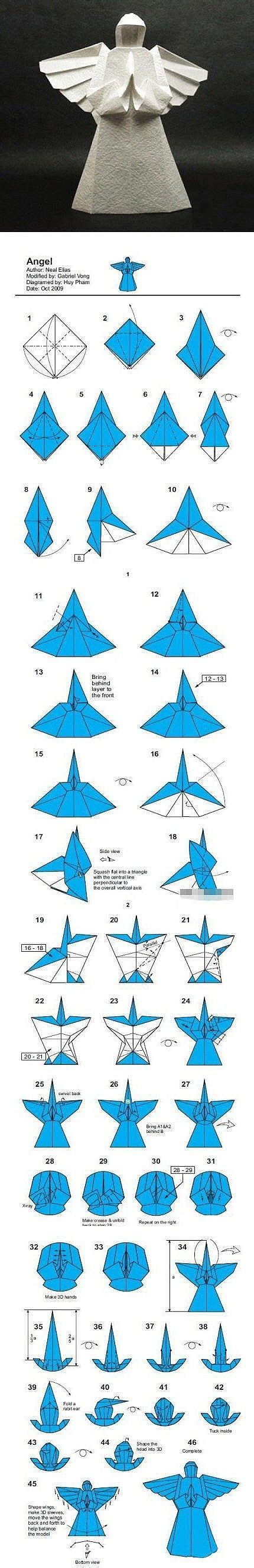 Origami Angle - origami paper and paper on
