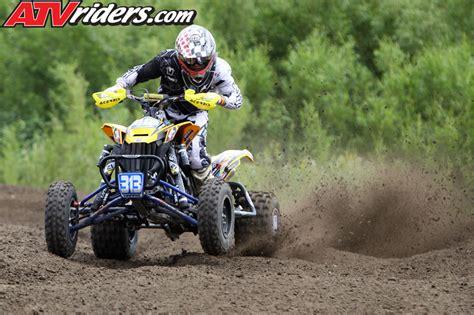 pro am motocross 2013 zach harris can am ds450 atv mx race program atv