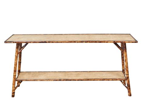 Bamboo Sofa Table Jefferson West Bamboo Sofa Table For Bamboo Sofa Table
