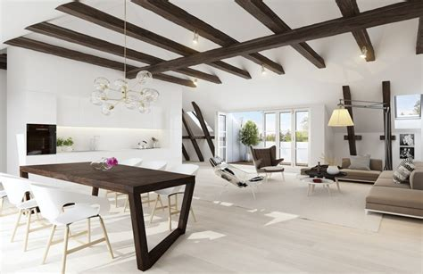 beams in ceiling exposed ceiling beams interior design ideas