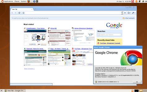 chrome linux download google chrome browser for linux mac os x nixcraft