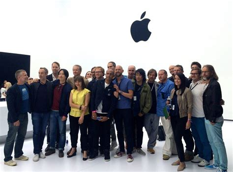 photo design team here s the first group picture of apple s new industrial