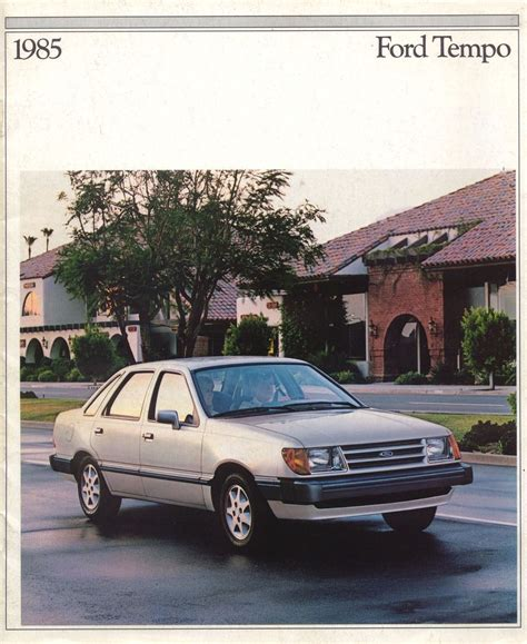 service manual where to buy car manuals 1985 ford tempo electronic toll collection ford