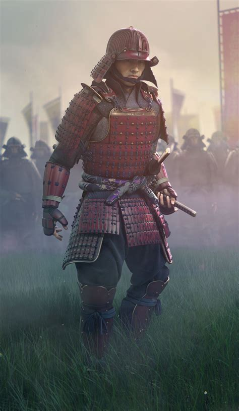 1 samurai armour volume i the japanese cuirass general books cg society samurai 3d model by eugene yevhen lisunov