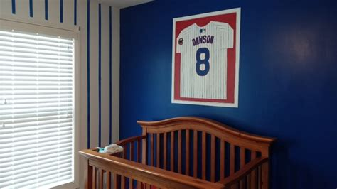 Cubs Crib by Chicago Cubs Themed Nursery Traditional