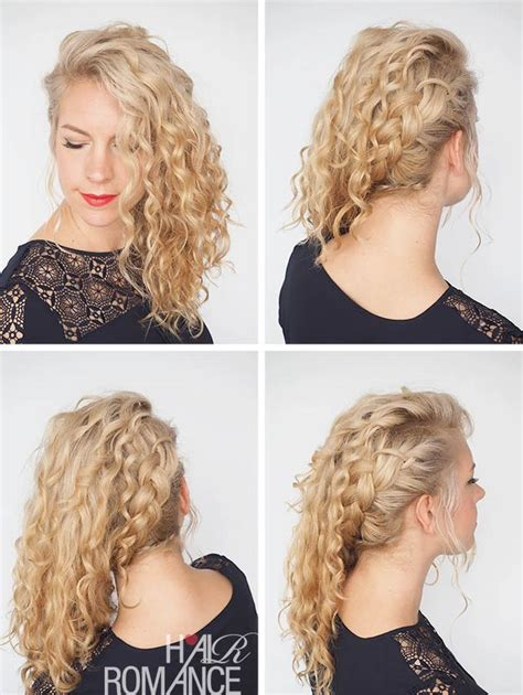 romance curls hairstyles 69 best 30 days of curly hairstyles images on pinterest