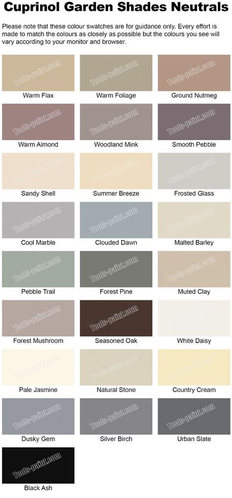 5 l shades cuprinol garden shades neutrals 2 5l
