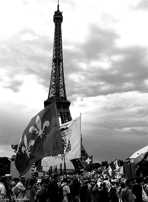 Tour Eiffel, Pèlerinage de Pentecôte 2014-De Chartres à