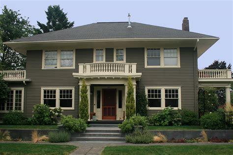 attractive exterior house paint colors  modest homes