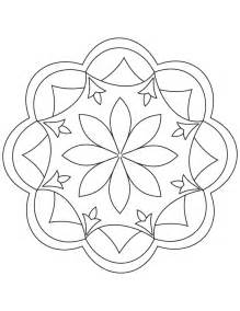 rangoli coloring pages free rangoli pattern coloring pages