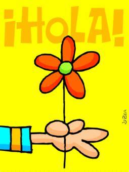 imagenes de un hola hola mensajes tarjetas y im 225 genes con hola para orkut