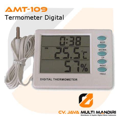 Alat Alarm Thermometer Luar Dalam Amt 105 termometer digital amtast amt 109 digital meter indonesia