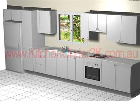 straight line kitchen designs budget kitchen renovations kitchen under 2k including accessories