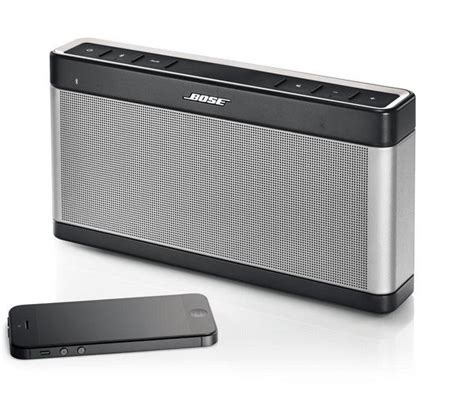 Speaker Bose Mobil buy bose soundlink mobile iii wireless portable speaker grey free delivery currys