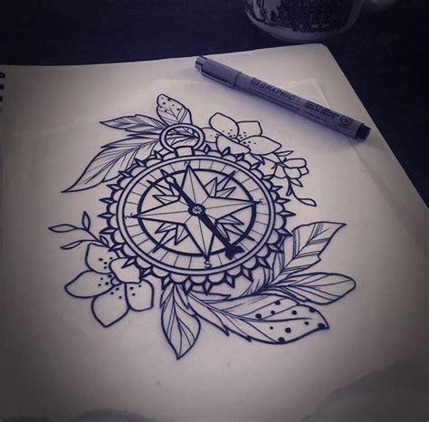 compass tattoo hip 25 best ideas about compass drawing on pinterest