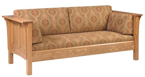 Shaker Style Sofa by Amish Shaker Deluxe Sofa