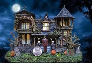 halloween village houses pics photos halloween village houses