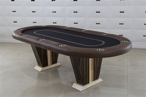 anubis texas hold em poker table with 6 matching chairs