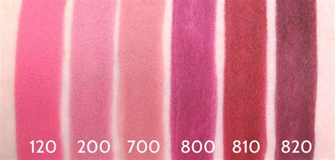 Rimmel The Only One Lipstick Best Of The Best 510 rimmel the only 1 lipstick collection review and swatches