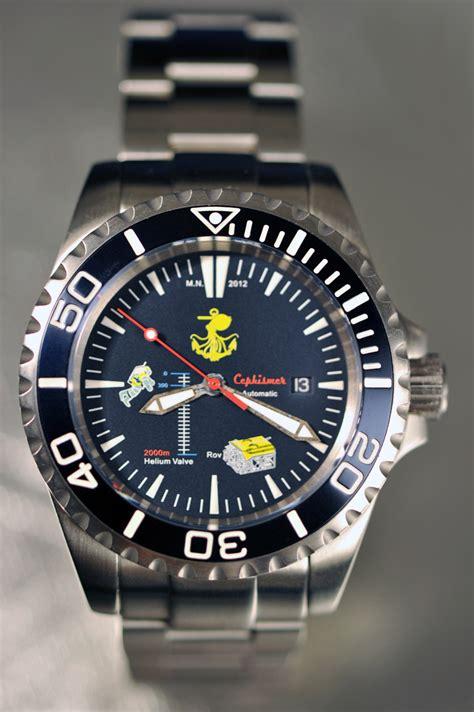 Montre Marine Nationale CEPHISMER   Dolphin watches