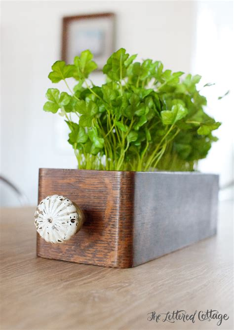 Diy Planter Box Centerpiece by Diy Table Centerpiece Made From Flea Market Finds The