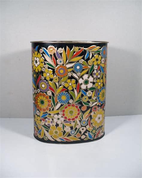decorative waste baskets reserved for teresa decorative metal waste basket trash