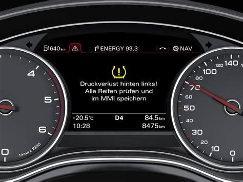 Audi A4 Ldruck Warnung by Rdks Pflicht Sensoren F 252 R Mehr Sicherheit Auto Motor 214 L