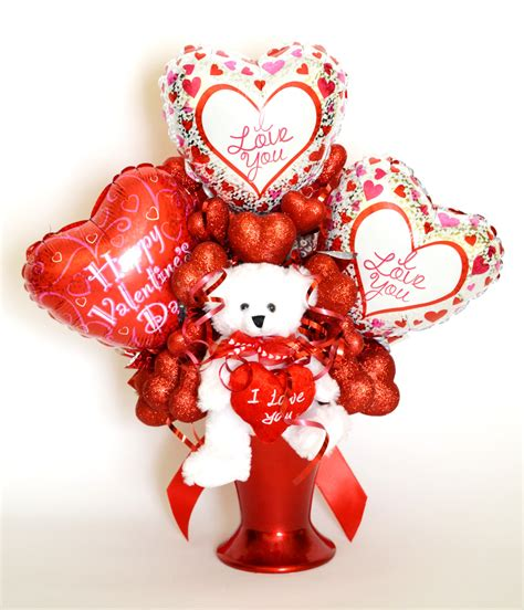 valentines day balloon bouquets reversible s day balloon bouquet side 1