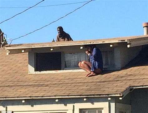 on the roof sparkle s melora rivera hid from intruder on roof only to